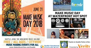 Make Music Day to Take Over Seattle on June 21st for a Day of Artful Festivities