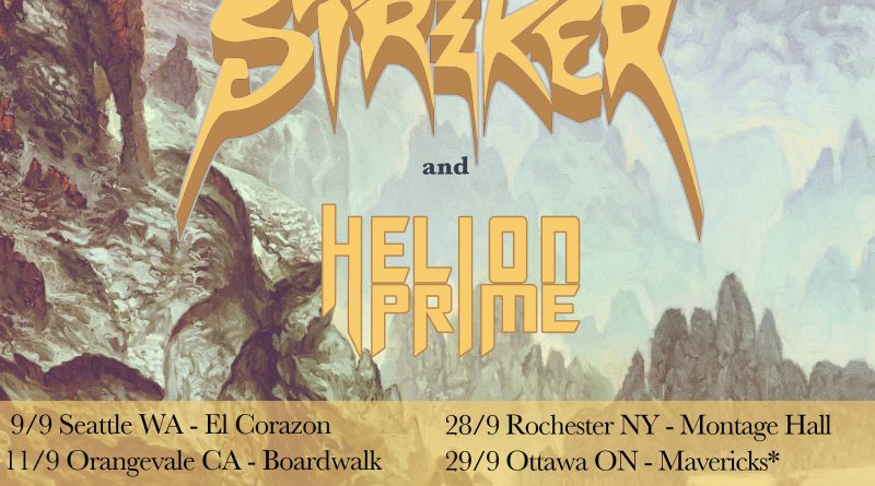 Unleash The Archers performing at El Corazon on September 9th