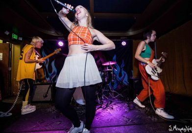 CONCERT REVIEW: Dream Wife delivers fierce live performance at Barboza