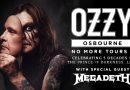 Ozzy Osbourne's No More Tours 2 in Tacoma has been postponed