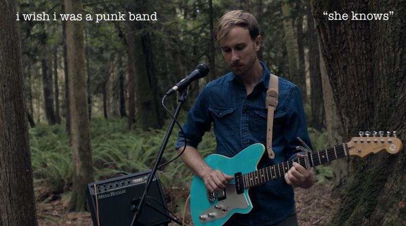"""Premier: Watch Live Recording of """"She Knows"""" by I Wish I Was A Punk Band"""