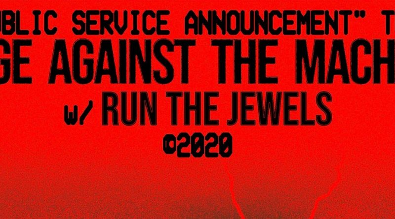 Rage Against the Machine to play Tacoma Dome on April 28 with Run The Jewels