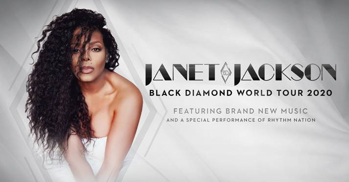Janet Jackson to play the Tacoma Dome on August 23