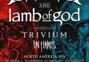 Megadeth & Lamb of God to play White River Amphitheatre on July 25