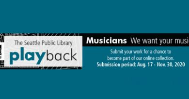Playback: Submission Period Opens August 17 for The Seattle Public Library's Local Music Collection